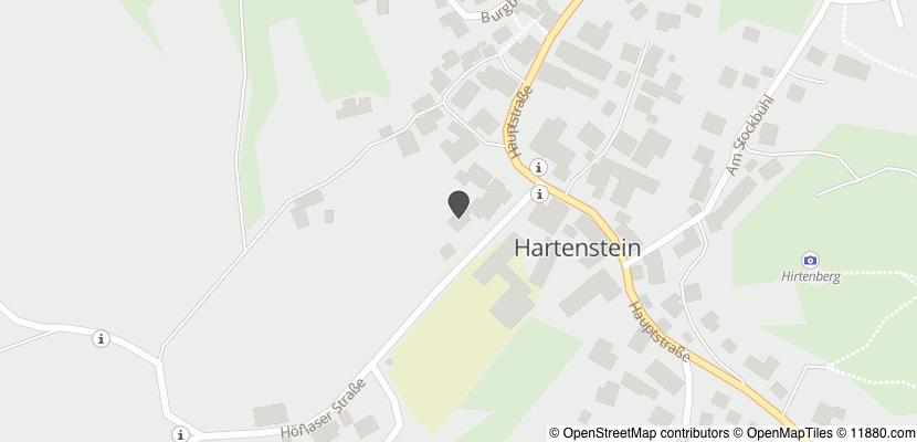 Auf Stadtplan Hartenstein, Mittelfranken anzeigen