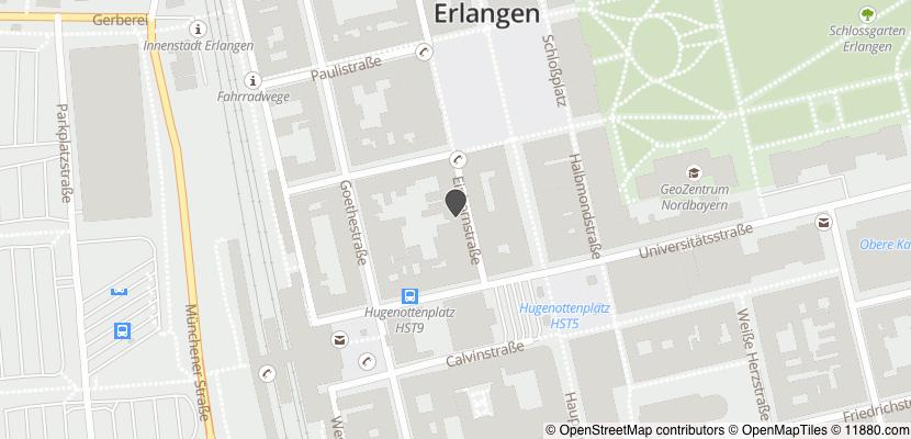 Auf Stadtplan Erlangen anzeigen