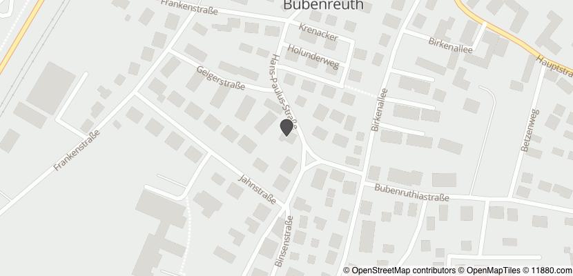 Auf Stadtplan Bubenreuth anzeigen