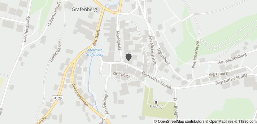 Auf Stadtplan Gräfenberg, Oberfranken anzeigen