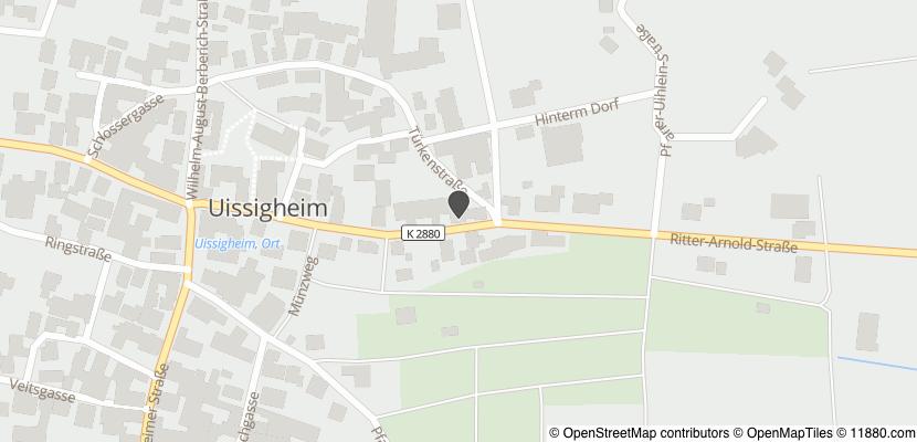 Auf Stadtplan Külsheim, Baden anzeigen