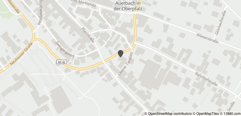 Auf Stadtplan Auerbach in der Oberpfalz anzeigen