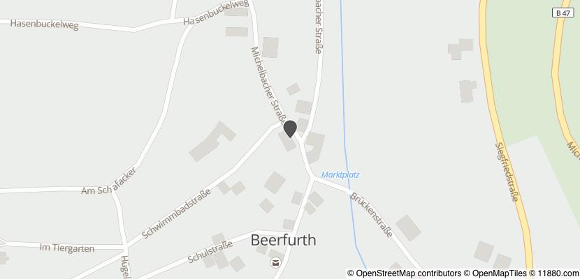 Auf Stadtplan Reichelsheim, Odenwald anzeigen