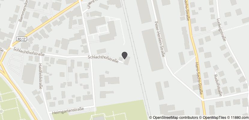 Auf Stadtplan Forchheim, Oberfranken anzeigen