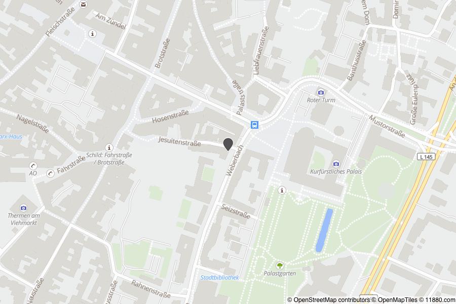 Bistum Trier Karte.Trägergesellschaft Bistum Trier Tbt Mbh Telefon Adresse