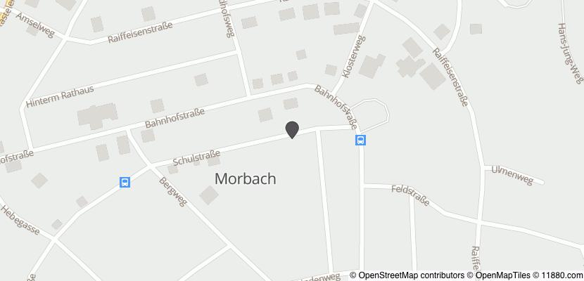 Auf Stadtplan Morbach, Hunsrück anzeigen