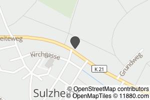 Auf Stadtplan Sulzheim, Rheinhessen anzeigen