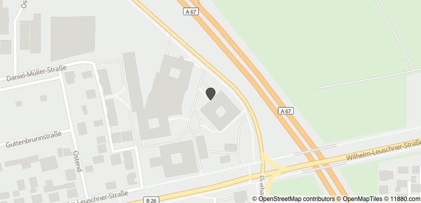 Auf Stadtplan Griesheim, Hessen anzeigen