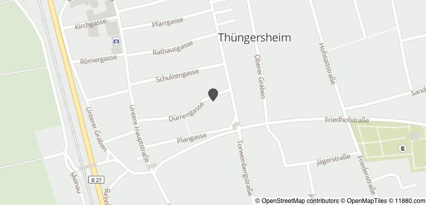 Auf Stadtplan Thüngersheim anzeigen