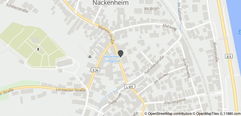 Auf Stadtplan Nackenheim anzeigen