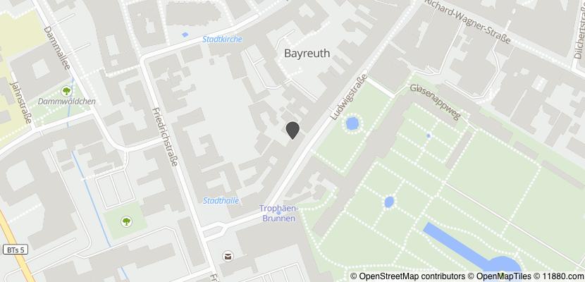 Auf Stadtplan Bayreuth anzeigen