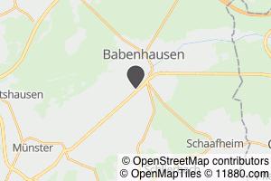 Auf Stadtplan Babenhausen, Hessen anzeigen