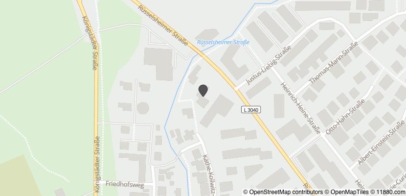 Auf Stadtplan Nauheim, Kreis Groß-Gerau anzeigen