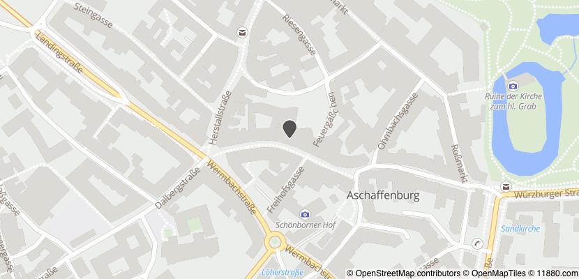Auf Stadtplan Aschaffenburg anzeigen