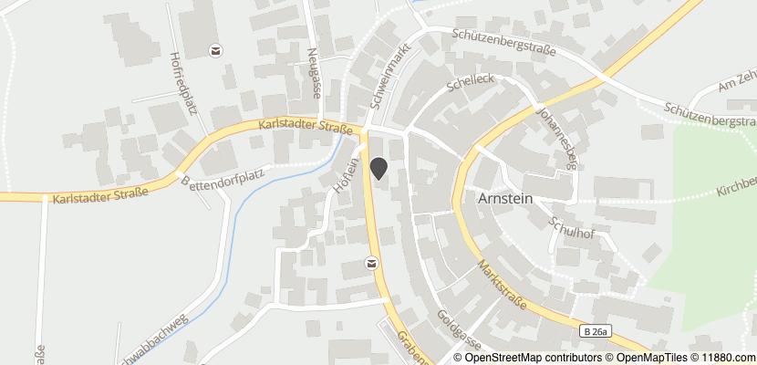Auf Stadtplan Arnstein, Unterfranken anzeigen
