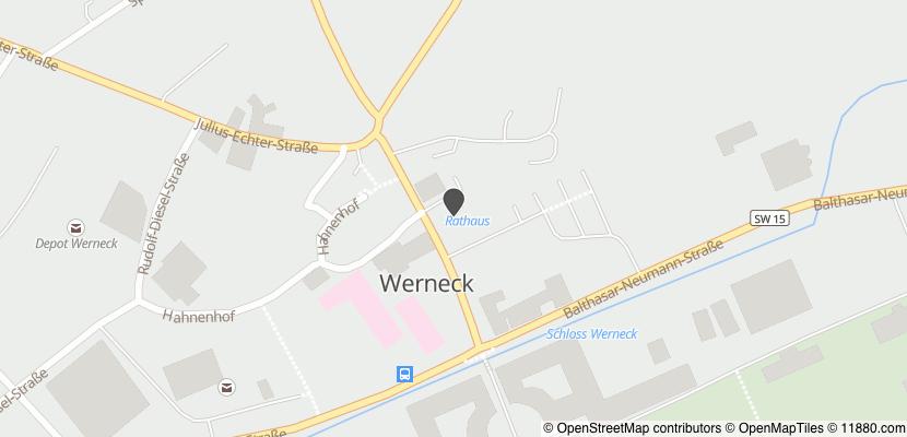 Auf Stadtplan Werneck anzeigen