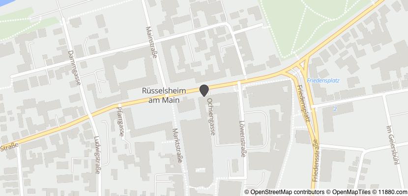 Auf Stadtplan Rüsselsheim anzeigen