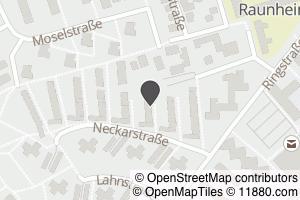 Auf Stadtplan Raunheim anzeigen