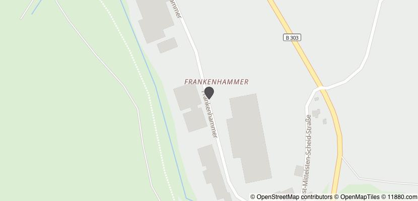 Auf Stadtplan Bad Berneck im Fichtelgebirge anzeigen