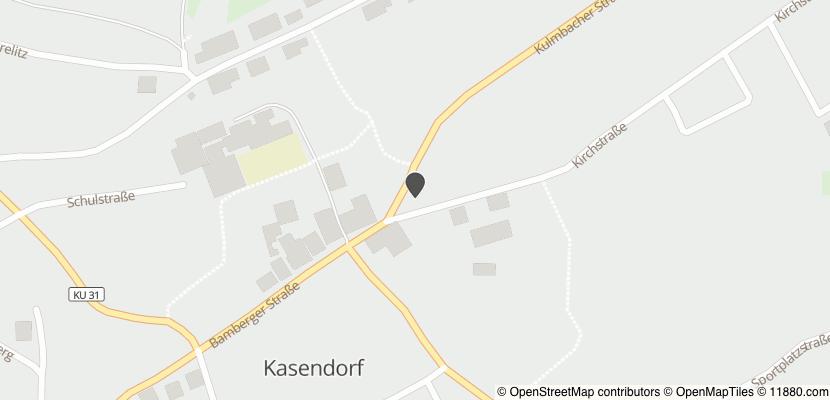 Auf Stadtplan Kasendorf, Oberfranken anzeigen