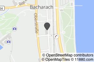 Auf Stadtplan Bacharach anzeigen