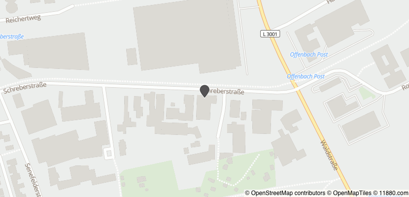 Auf Stadtplan Offenbach am Main anzeigen
