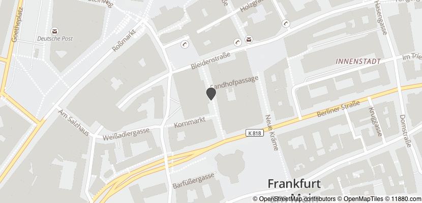Auf Stadtplan Frankfurt am Main anzeigen