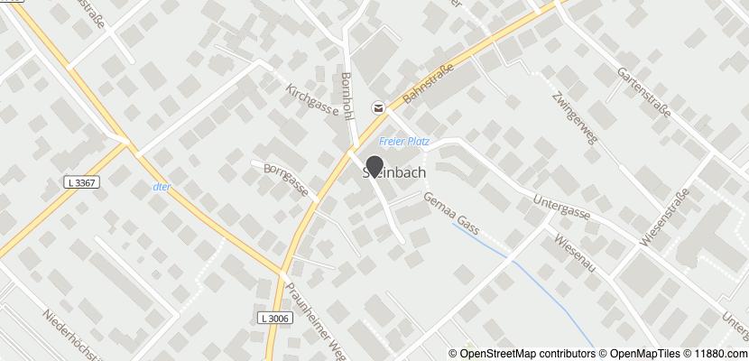 Auf Stadtplan Steinbach, Taunus anzeigen