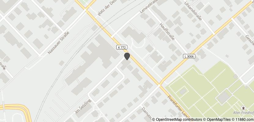 ▷ Gaststätte Kontiki ✅   Tel. (06171) 5845... ☎ - Adresse
