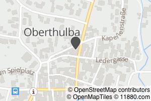 Auf Stadtplan Oberthulba anzeigen