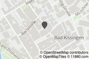 Auf Stadtplan Bad Kissingen anzeigen