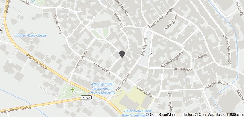 ▷ Zum Schwanen Gasthaus ✅   Tel. (06171) 553... ☎ - Adresse