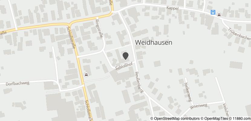 Auf Stadtplan Weidhausen bei Coburg anzeigen