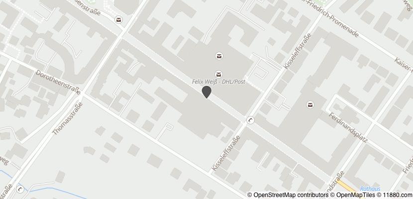 Auf Stadtplan Bad Homburg vor der Höhe anzeigen