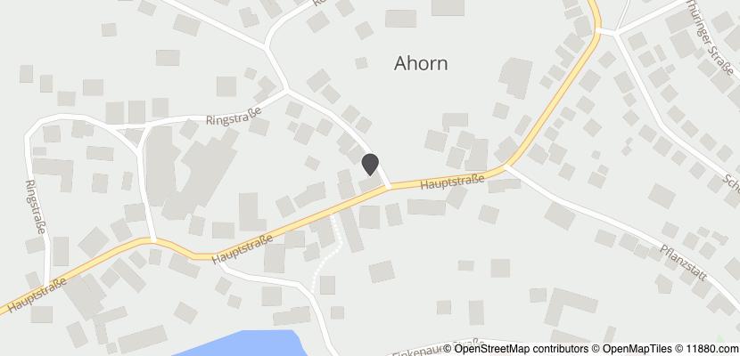 Auf Stadtplan Ahorn, Kreis Coburg anzeigen