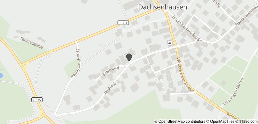 Auf Stadtplan Dachsenhausen anzeigen