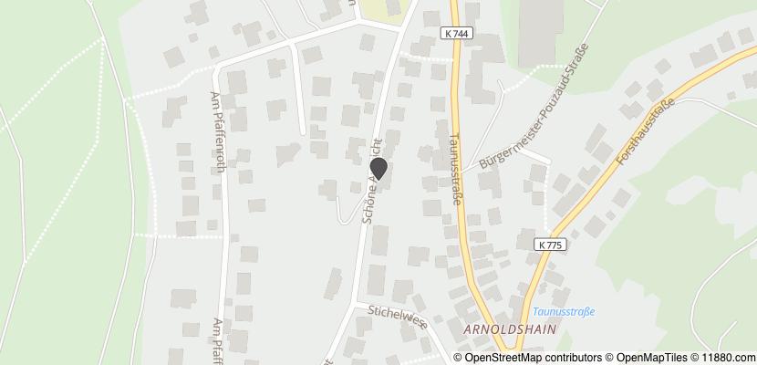 Auf Stadtplan Schmitten, Taunus anzeigen