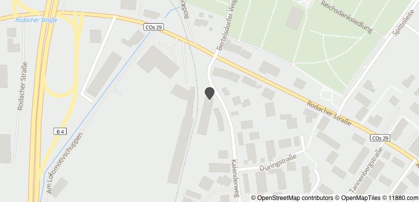 Auf Stadtplan Coburg anzeigen