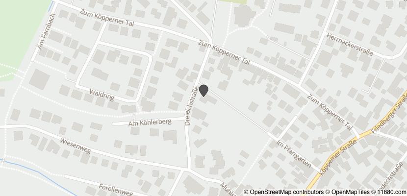 Auf Stadtplan Friedrichsdorf, Taunus anzeigen