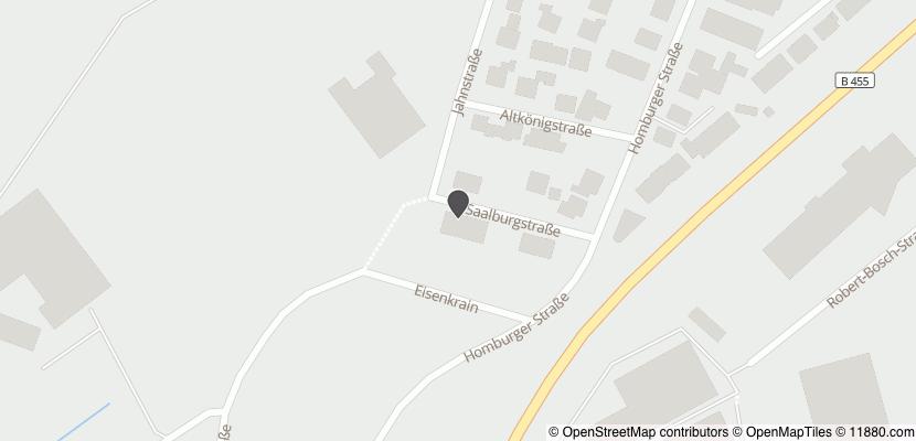 Auf Stadtplan Rosbach vor der Höhe anzeigen