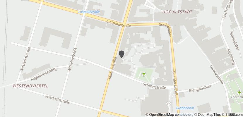 ▷ Schäfer Büromöbel GmbH ✅   Tel. (09281) 14000-... ☎ - Adresse