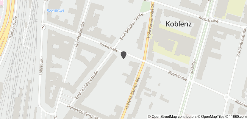 Auf Stadtplan Koblenz am Rhein anzeigen