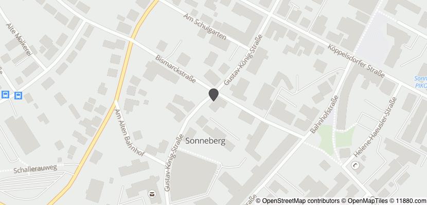 Auf Stadtplan Sonneberg, Thüringen anzeigen