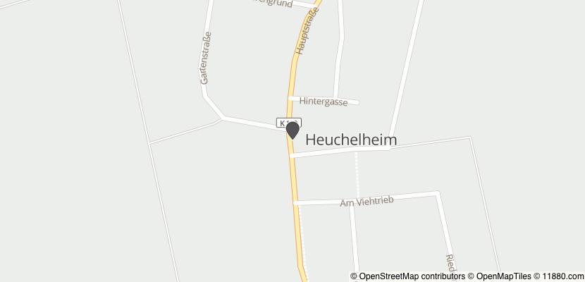 Auf Stadtplan Reichelsheim, Wetterau anzeigen