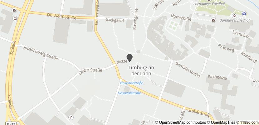 Auf Stadtplan Limburg an der Lahn anzeigen