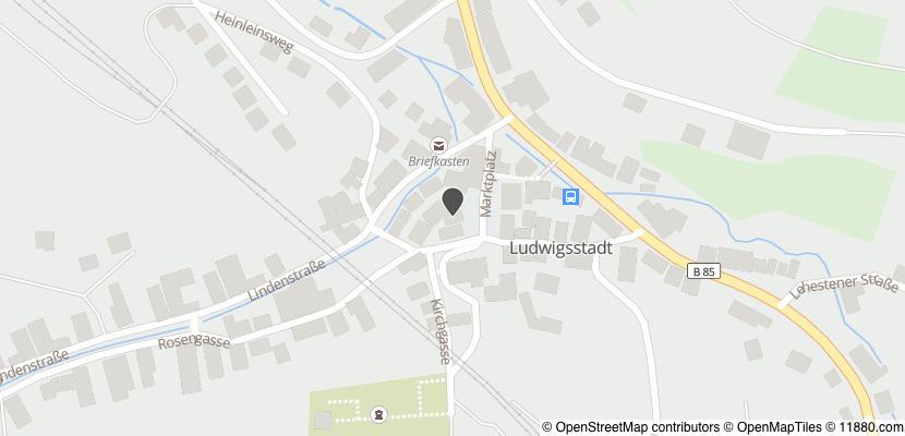Auf Stadtplan Ludwigsstadt anzeigen