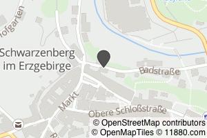 Auf Stadtplan Schwarzenberg, Erzgebirge anzeigen