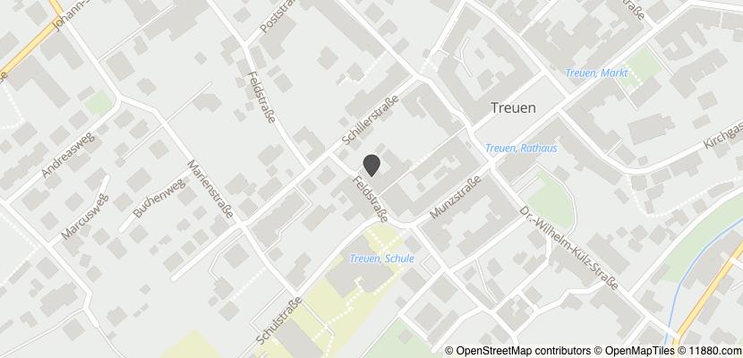Auf Stadtplan Treuen, Vogtland anzeigen