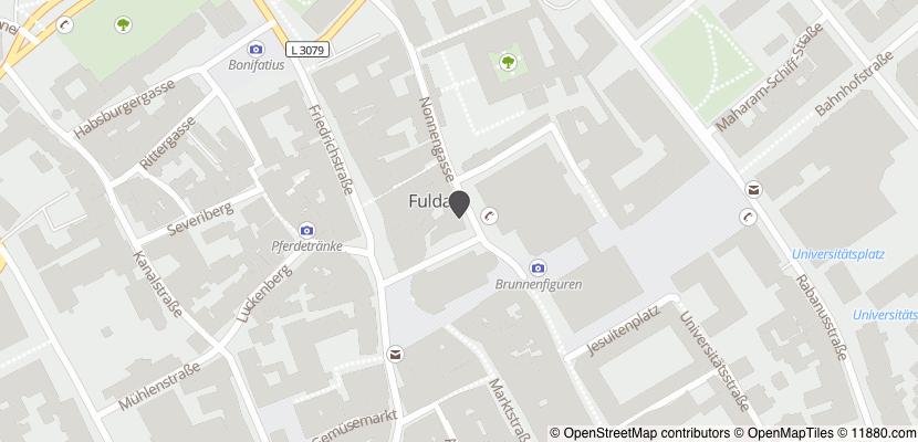 Auf Stadtplan Fulda anzeigen