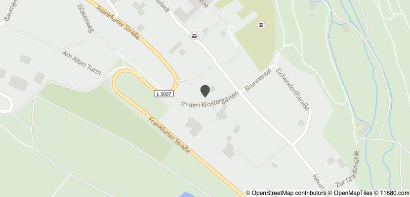 Auf Stadtplan Grünberg, Hessen anzeigen